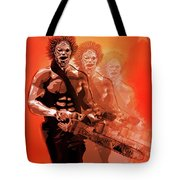 Leatherface Beastmode Tote Bag