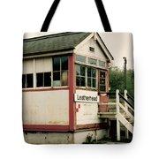 Leatherhead Station Tote Bag