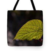 Leav Venation Tote Bag