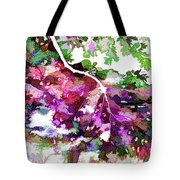 Leave In Autumn Tote Bag
