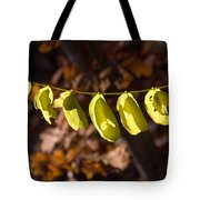 Leaves All In A Row Tote Bag