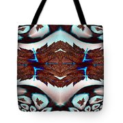 Leaves And Rain Tote Bag