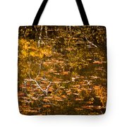 Leaves And Reflections Tote Bag by Susan Cole Kelly