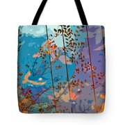 Leaves And Wire Tote Bag