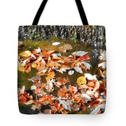 Leaves Are Falling Tote Bag