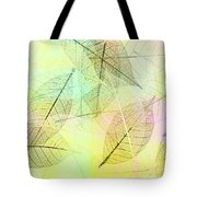 Leaves Background Tote Bag