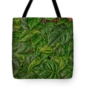 Leaves By The Way Tote Bag