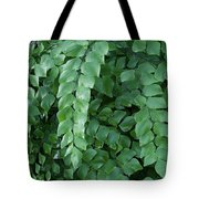Leaves Cascading Tote Bag