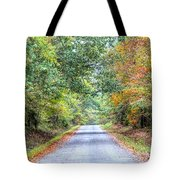 Leaves Changing In The Fall Near Collierville,tn Tote Bag