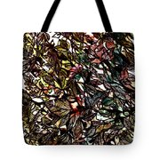 Leaves Hidden Everywhere Tote Bag