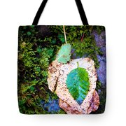 Leaves In A Pile Tote Bag