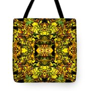 Leaves In The Fall Design Tote Bag