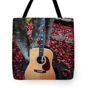 Leaves In The Martin Tote Bag