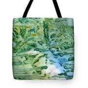 Leaves In Water Tote Bag