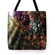 Leaves Light Streaming Tote Bag