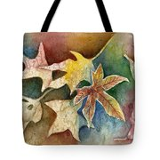 Leaves Of Autumn Tote Bag