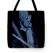 Leaves Of Blue Tote Bag
