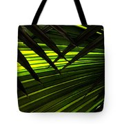 Leaves Of Palm Color Tote Bag