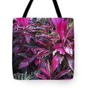 Leaves Of Pink Tote Bag