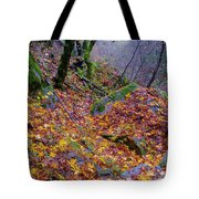 Leaves Of The Forest Tote Bag