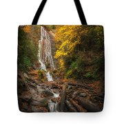 leaves on Mingo Tote Bag