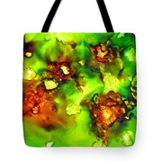 Leaves On The Stream Tote Bag