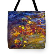 Leaves Underwater Tote Bag