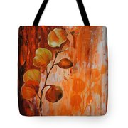 Leaves1 Tote Bag by Chris Steinken