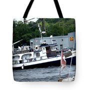 Leaving Harbor Tote Bag