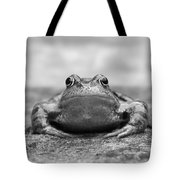 Leaving Home - Black And White Tote Bag