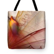Leaving Marks Abstract Art Tote Bag