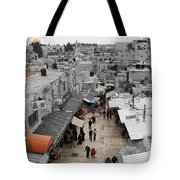 Leaving Old City Tote Bag