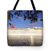 Leaving Port Tote Bag