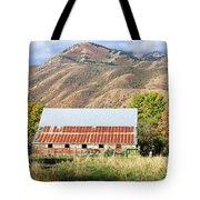 Leaving The Barn Tote Bag
