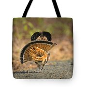 Leaving The Scene Grouse Tote Bag