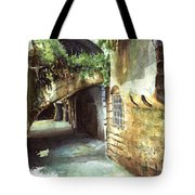 Lebanese Watercolors Jewsish Zone Saida Tote Bag
