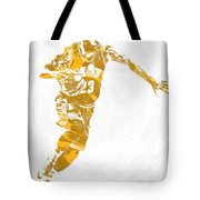 Lebron James Cleveland Cavaliers Pixel Art 14 Tote Bag