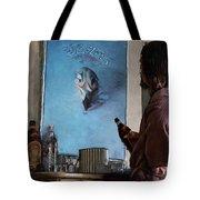Lebwoski Makes His Peace With The Eagles - The Big Lebowski Tote Bag