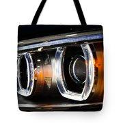 Led Headlights Tote Bag