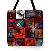 Led Zeppelin Discography Tote Bag