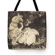 Leda Bathing (l?da Au Bain) Tote Bag