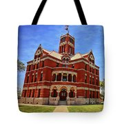 Lee County Courthouse Giddings Texas 2 Tote Bag