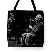 Lee Konitz 1 B And W Tote Bag