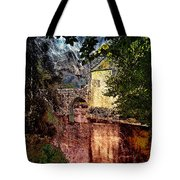 Leeds Castle Gatehouse And Moat Tote Bag