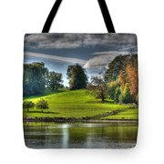 Leeds Castle Lake View Tote Bag