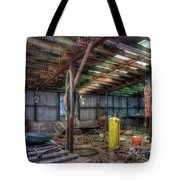 Left All Behind Tote Bag