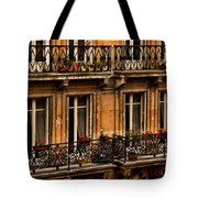 Left Bank Balconies Tote Bag