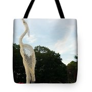 Left Crane Tote Bag