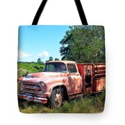 Left In The Field Tote Bag