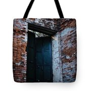 Left The Building Tote Bag